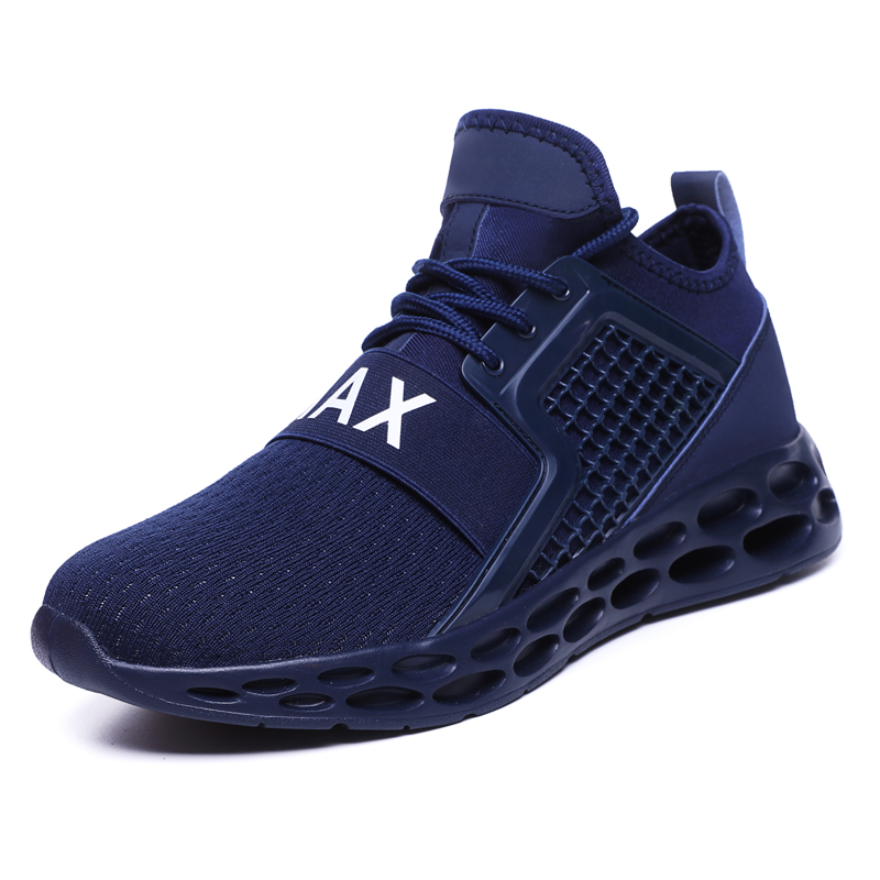 G15 Blue-Outdoor Men Sports Shoes High Quality Lace-up Breathable Sneakers