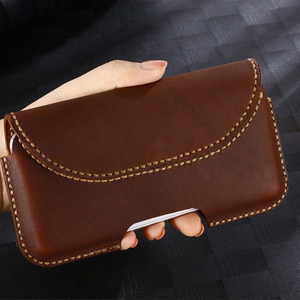 Image 1 - SZLHRSD For Xiaomi Mi Max 3 max 2 mix 2S Redmi 6A Case Genuine Leather Holster Belt Clip Pouch Funda Cover Waist Bag Phone cover