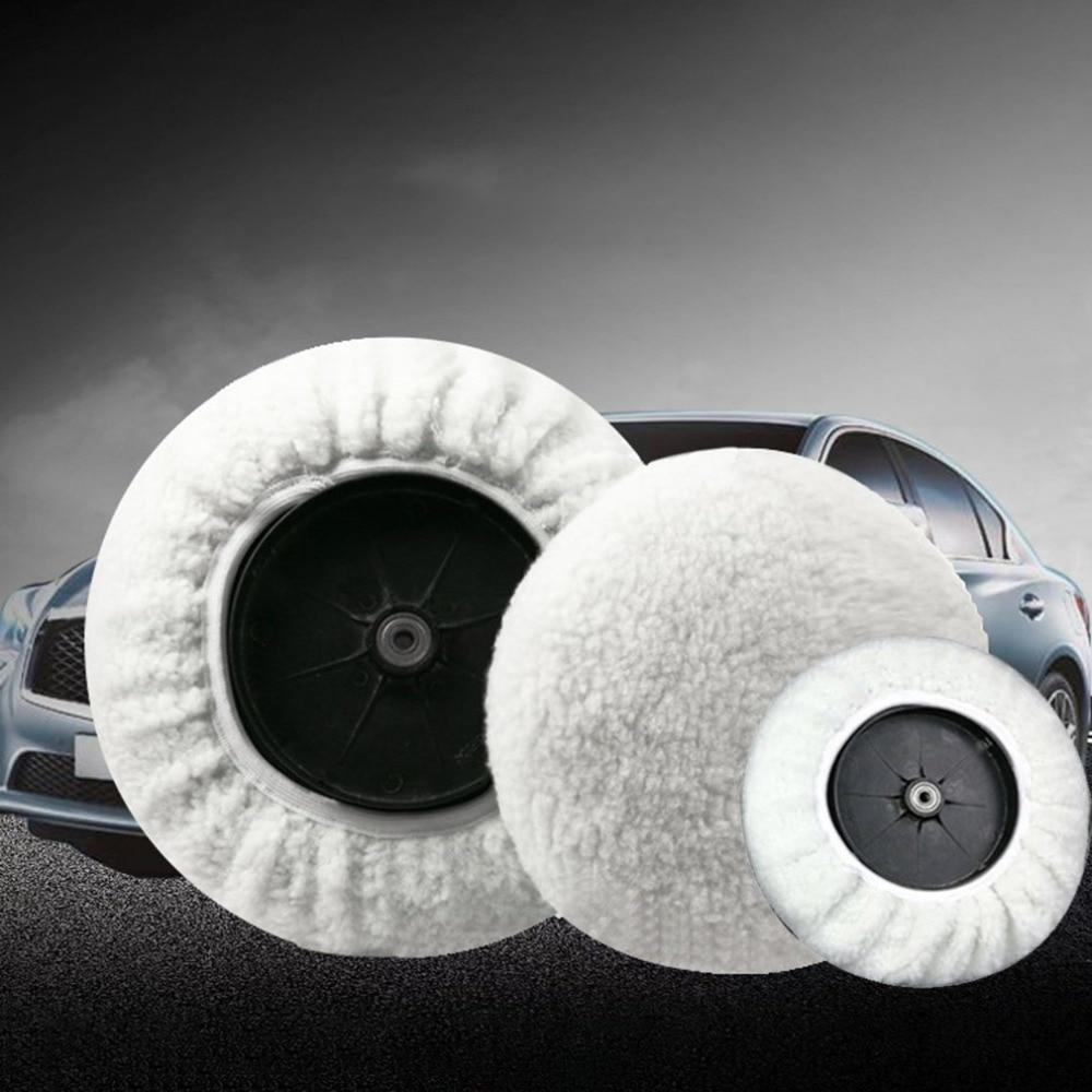 Universal Car Polisher Bonnet Polishing Pad Bonnet Buffing Pad Cover Soft Wool For Car Polishing
