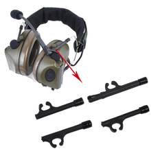 Tactical military Comtac series headphones support replacement headset accessories bracket tactical  BK
