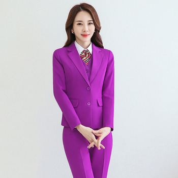 Womens Three-Piece Formal Suits