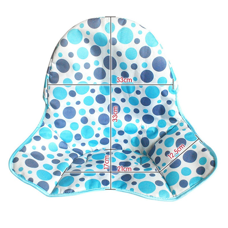 Baby Feeding Foldable Waterproof High Chair Cushion