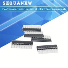 20pcs DIP exclusion 9pin 10K ohm 9 PINS A103J 9A103 9A103J Network Resistor array