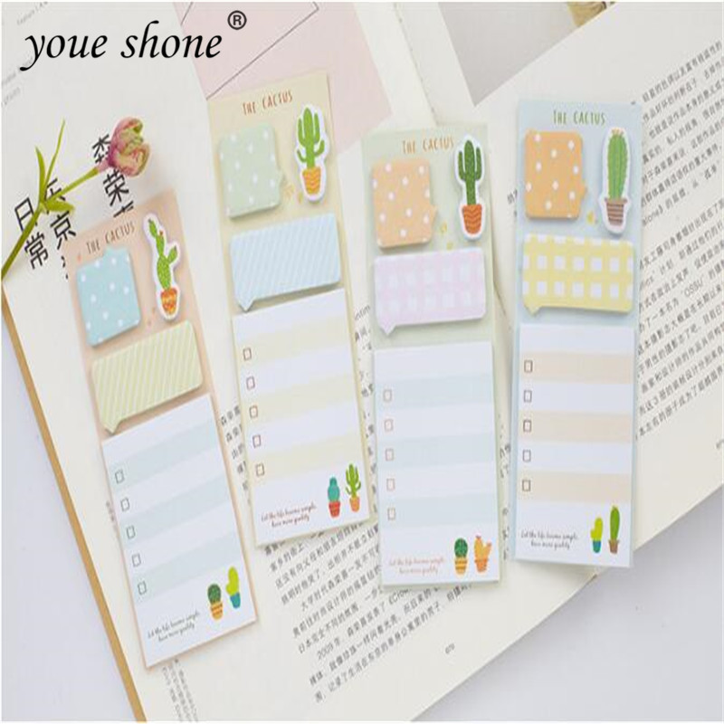 1Pcs=30sheets Creative Memo Pad Sticky Notes Post Note Book Cute Little Fresh N Times Post Office School Supplies Stationery