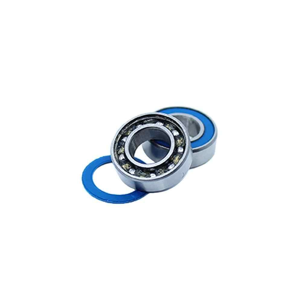 Rubber Sealed Ball Bearing Bearings 696RS 696-2RS 6x15x5 mm 5 Pcs BLUE