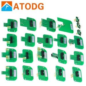 Image 1 - BDM Sonda SIM Card e Adattatori 22pcs Per KESS KTAG BDM100/CMD100/FGTECH V54 Led BDM Frame Set Completo di ECU programmatore BDM con Frer La Nave