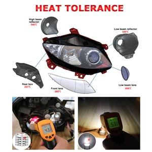 Image 5 - HLXG with Korea CSP chips H7 LED Bulb H4 Car Headlight Kit H11 H8 H9 Fog Lamp mini Headlamp Light 12V 9005 HB3 9006 HB4 LED H7