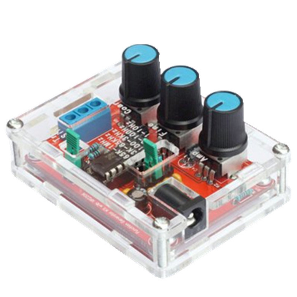 XR2206 High  Durable Function Signal Generator Adjustable Frequency 1Hz-1MHz Sine/Triangle/Square Easy Install DIY Kit