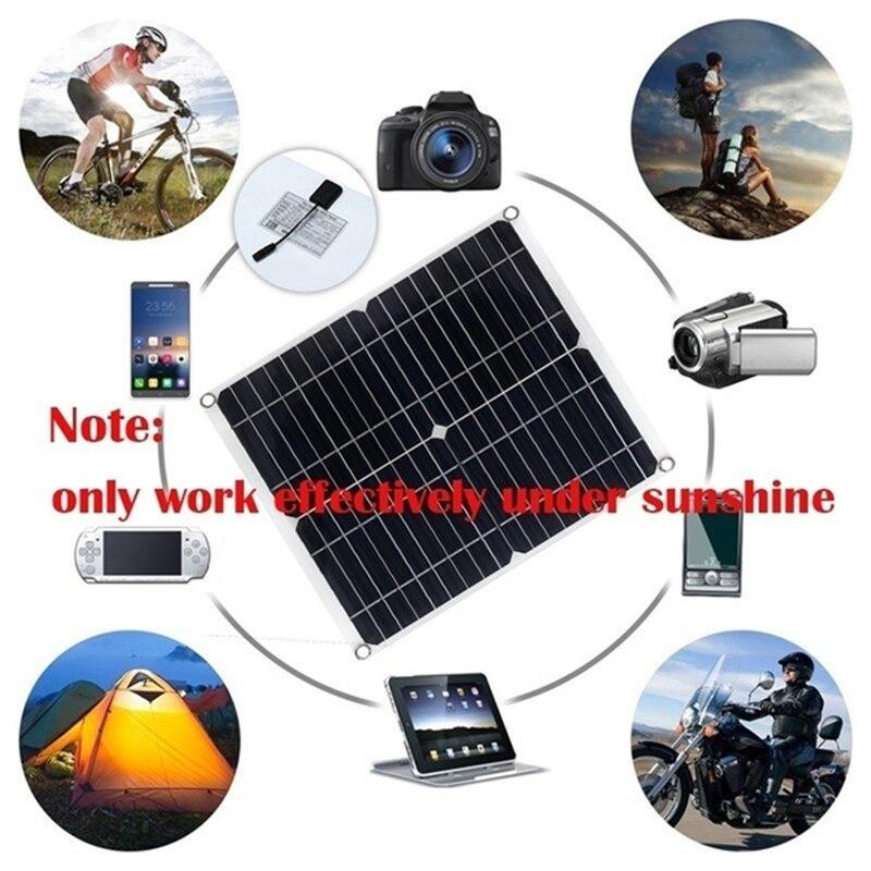 painel solar 80w 20a controlador 18v dupla 01