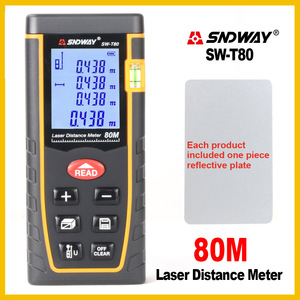 Image 4 - SNDWAY Rangefinder Laser Distance Meter Range Hand Tool Device Finder Electronic  SW T4S/T40/T60/T80/T100