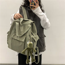 Fashion All-match Campus School Bag College Style Simple Backpack Large Capacity Multifunctional Backpacks Mochila Feminina