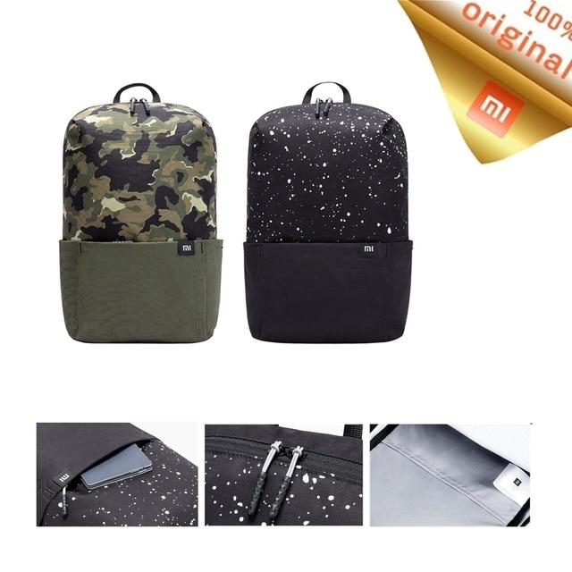 2020 Xiaomi 10L plecak torba nowy kolor duża pojemność IPX4 wodoodporna rozrywka sport Pack torby Unisex dla mężczyzn kobiety podróży Camping