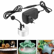 Ultrasone Mist Maker Fogger Water Fountain Pond Verstuiver Luchtbevochtiger EU Plug(China)