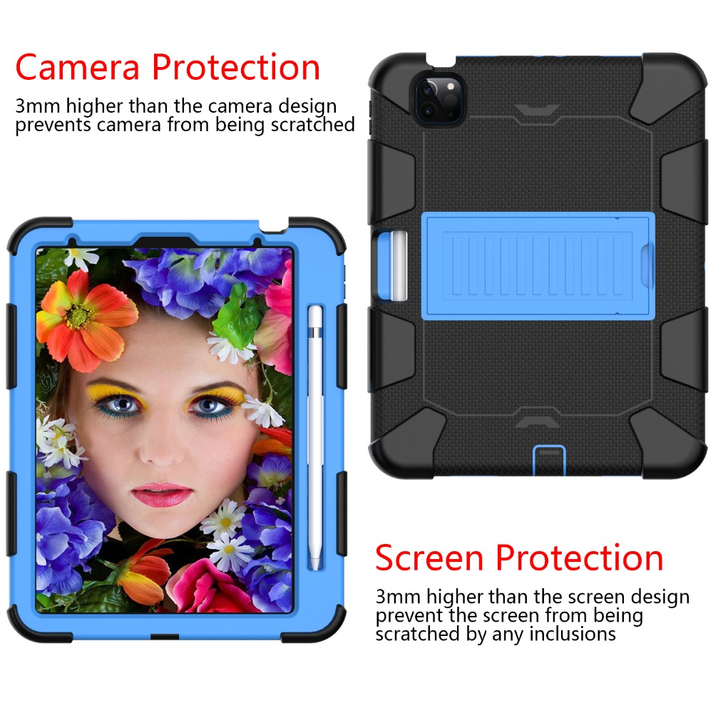 for Heavy inch iPad Shockproof 10.9 2020 Hybird Kids Tablet Rugged PC Air Duty Case 4