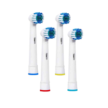 Replacement Brush Heads for Oral B, 4Pcs Electric Toothbrush Replacement Heads for Oral B Pro 3000 Pro 5000 Pro 7000 ..
