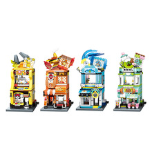 New Style ideas Anime Pokemon Building Blocks Charizard pikachu Squirtle Bulbasaur Assembly Model Educational Kids Toys For Gift