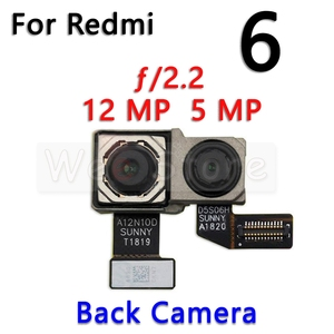 Image 2 - קטן מול & עיקרי גדול חזור אחורי מצלמה להגמיש כבלים עבור Xiaomi Redmi הערה 6 6A 7 7A פרו בתוספת מצלמה להגמיש