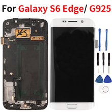 Lcd For Samsung Galaxy S6 Edge LCD Display Touch Screen Digitize Replacement Assembly For Samsung G925 G925F