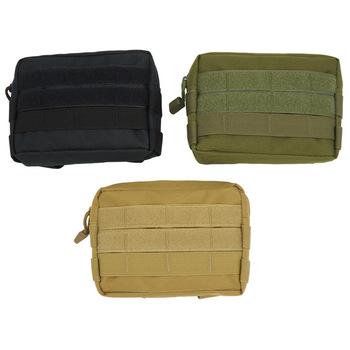 Outdoor Military Molle Utility narzędzie EDC saszetka biodrowa taktyczna medyczna torba na akcesoria do pierwszej pomocy etui na telefon torba myśliwska tanie i dobre opinie CN (pochodzenie) NYLON