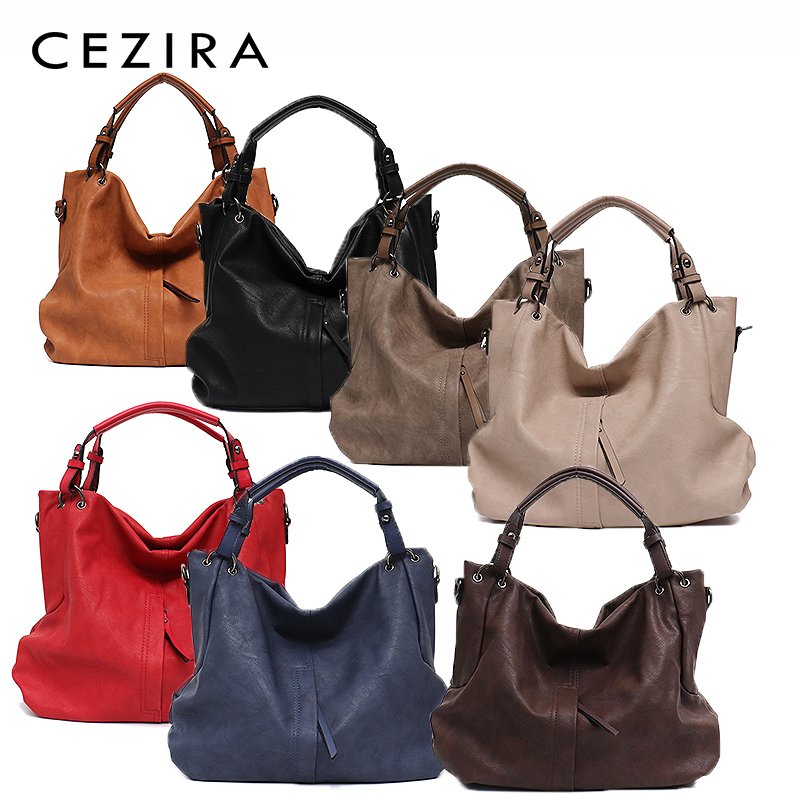 Brand Large Women's Leather Handbags High Quality 1