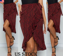 Goocheer 2019 vintage high waist skirt leopard print skirts womens cover ups beachwear Korean style boho streetwear femme