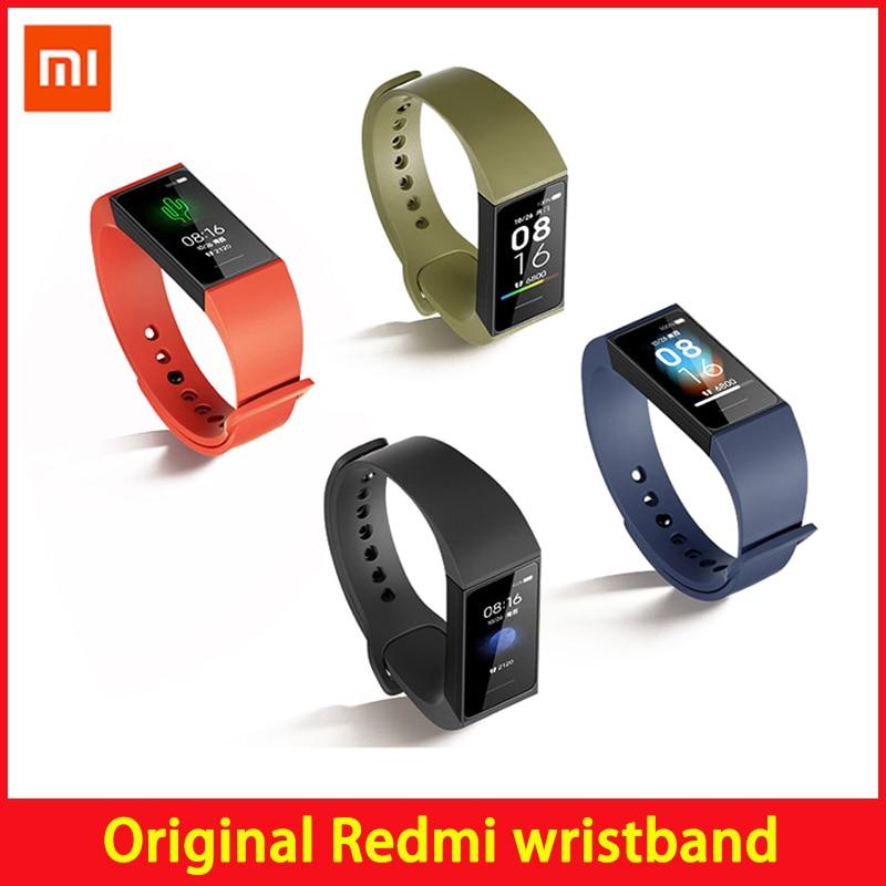 Xiaomi Redmi Band смарт монитор сердечного ритма Спорт Bluetooth 5,0 водонепроницаемый браслет сенсорный большой цветной экран браслет|Смарт-браслеты| | АлиЭкспресс