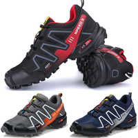 2020 All Terrain Non-Locking Cycling Shoes Man Breathable Mountain Bike Shoe Leisure Road Bicycle Motocycle Shoes 39-46