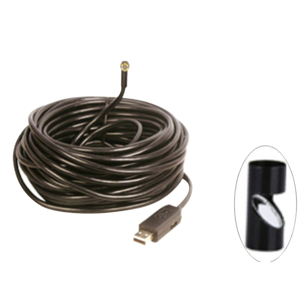15m Camera Sewer Cleaner Pipe Inspection Digital Durable Android Waterproof Portable Computer Video USB Endoscope Mini