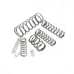 20pcs compression spring wire diameter 0.3mm outer diameter 6mm Stainless Steel Micro Small Compression spring length 5mm-50mm