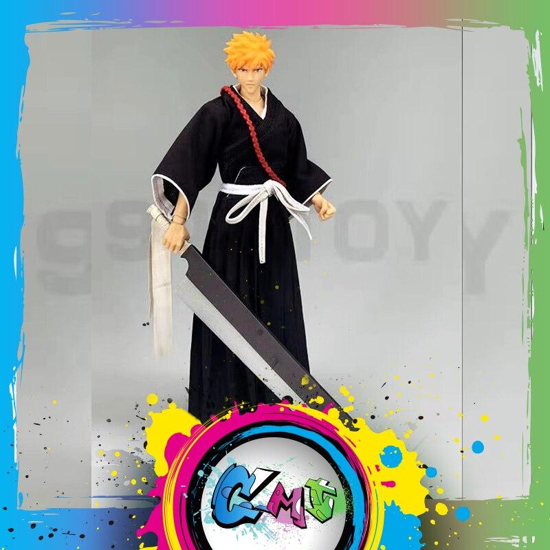 CMT в наличии дасин модель с рисунком персонажа «Блич»-Куросаки Ичиго, S.H.F Аниме ПВХ фигурка Звездных Войн