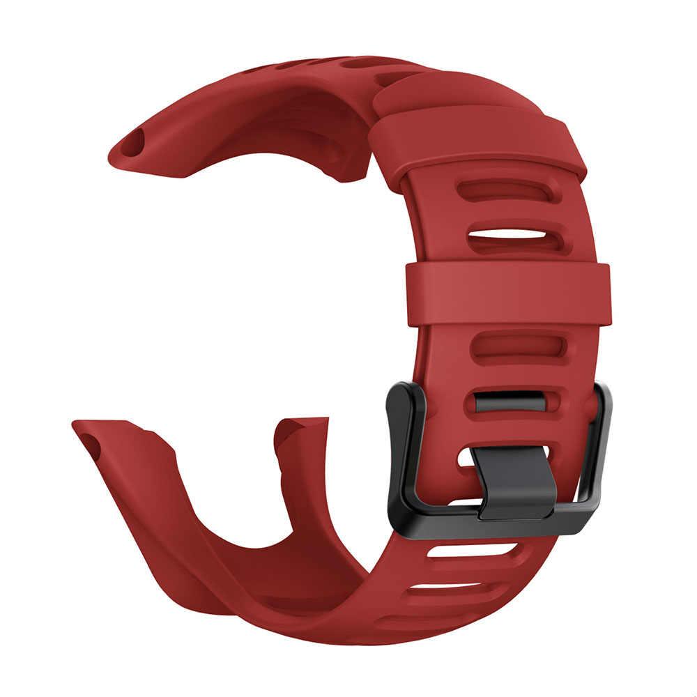 シリコーン交換スント Ambit のスポーツ時計バンド 3/アンビット 2/アンビット 1 スマート腕時計ブレスレットストラップ 24 ミリメートル時計バンド