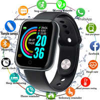 2020 Smart Watch Men Women Blood Pressure Smartwatch Watch Waterproof Heart Rate Tracker Sport Clock Watch Smart For Android IOS