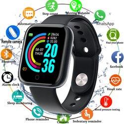 Reloj inteligente 2020 para hombres y mujeres, reloj inteligente a prueba de agua y presión arterial, reloj deportivo inteligente para Android IOS