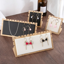 цены Pendant necklace necklace earrings jewelry display rack display rack jewelry display table display