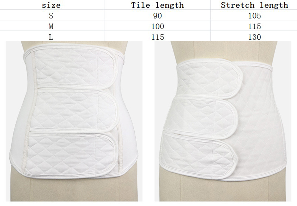 Postpartum Abdomen With Cotton Maternity Gauze Corset Belly Maternal Abdomen With Body Shaping Bandage