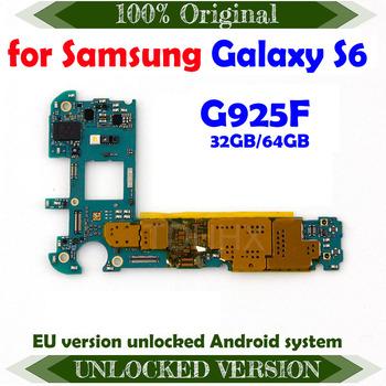 Oryginalna odblokowana płyta główna 32GB do Samsung Galaxy S6 Edge G925F odblokuj system android w europie tanie i dobre opinie TDHHX Wewnętrzny For Samsung Galaxy S6 G925F motherboards Original Disassemble Unlocked and used In Stock Shenzhen Guangdong China(mainland)