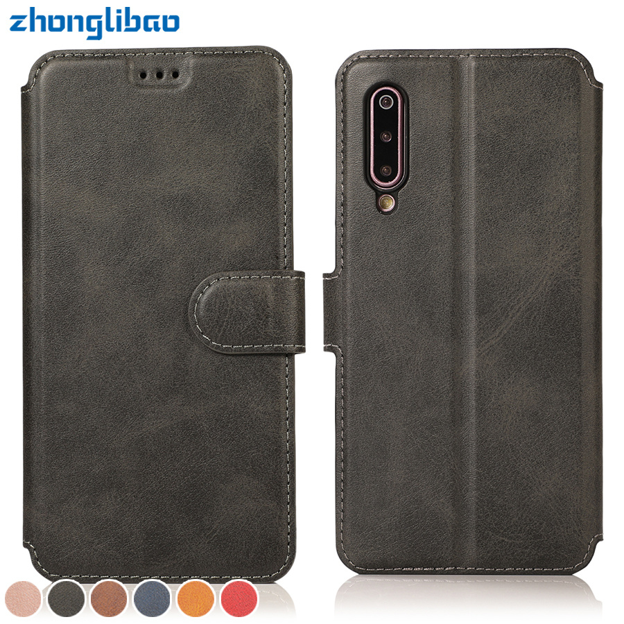 Redmi Note 7 Case for Xiaomi Mi 9 8 6x A2 Lite Flip Coque Xiomi Redmi 6 6a 7 Y3 Note 7 6 5 Pro 7s Etui Card Wallet Stand Cover image