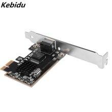 Kebidu PCIE карта 2500 Мбит/с гигабитная игровая сетевая карта 1000 Мбит/с RTL8125 RJ45 проводная сетевая карта PCI-E 2,5G сетевой адаптер LAN Карта