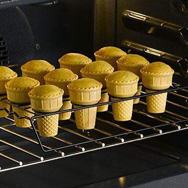 Ice Cream Cone Cupcake Baking Rack Self-Service DIY Ice Cream Display Storage Shelf