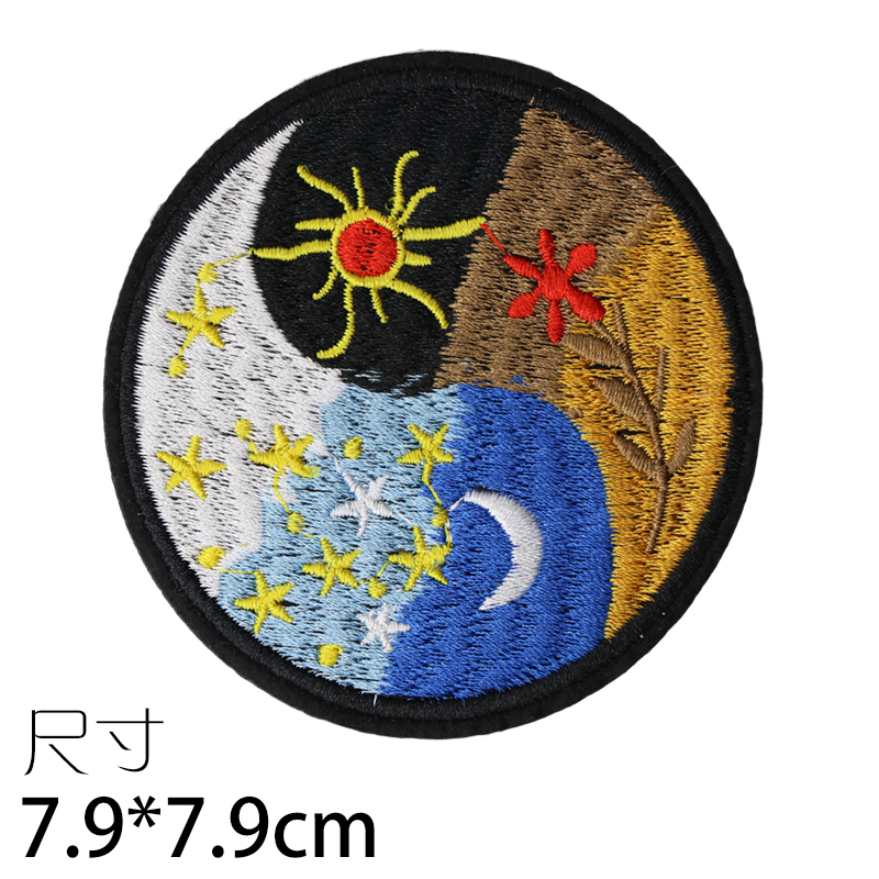 Custom Embroidered Motorcycle Biker Vest Patch Factory direct