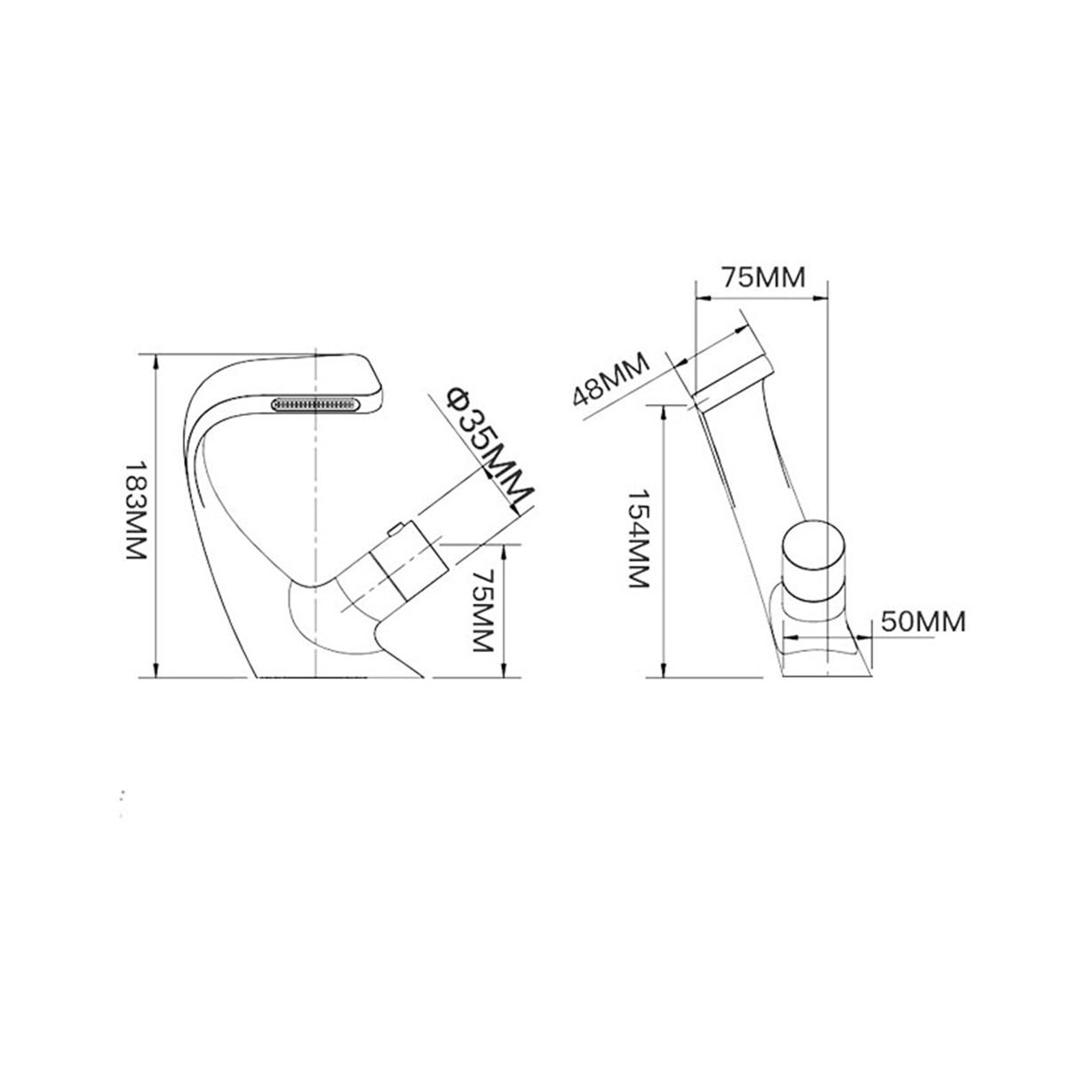 Hf6a6afa03b9c41d4aba687affead99bam Black Faucet Bathroom Sink Faucets Hot Cold Water Mixer Crane Deck Mounted Single Hole Bath Tap Chrome Finished