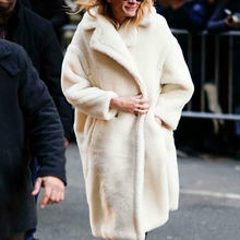 Женское зимнее теплое пальто стильная двубортная Женская Толстая