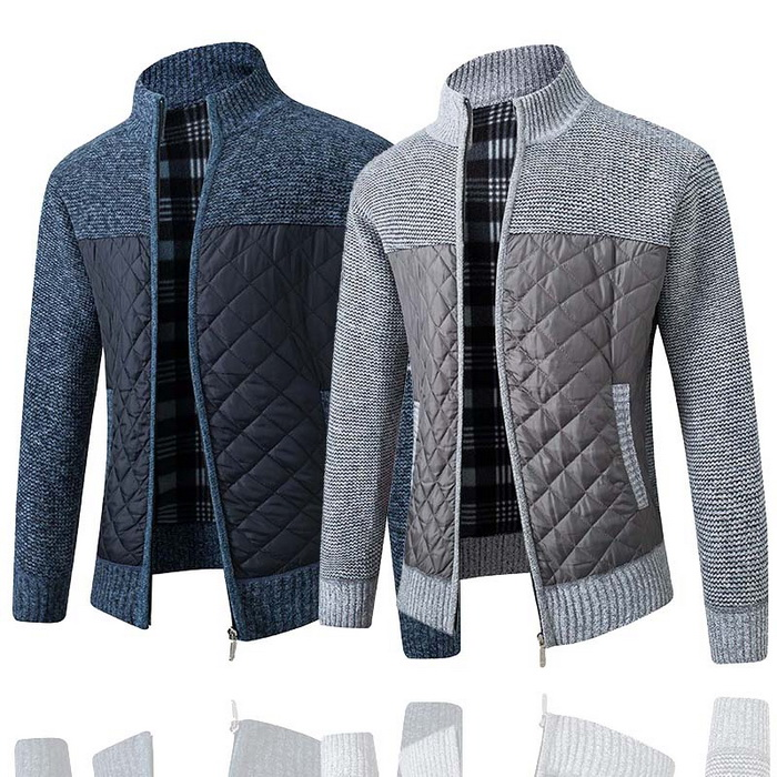Warm Knitted Men's Sweater