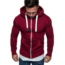 2019 autumn fashion sweatshirt men hoodies plus size 5xl hooded sweatshirts zipper thicken hoodie