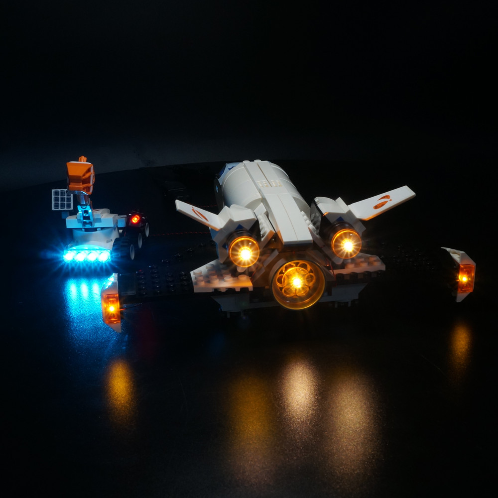 Light Set For City Series 60226 Mars Research Shuttle (only Light Kit Included)