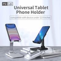 Mr.Lei-Soporte Universal plegable para tableta, soporte de escritorio para teléfono móvil, para iPhone, Xiaomi, Huawei