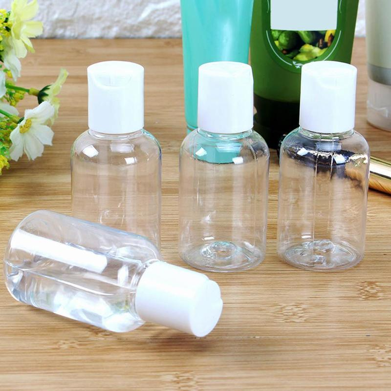 50ml Lotion Empty Plastic Container Transparent Travel Bottle Toner Shampoo Mini Face Cream Sub-bottle Press Sub-bottle
