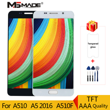 Get more info on the A510 LCD For Samsung Galaxy A5 2016 A510F LCD A510M SM-A510F Display Touch Screen Assembly Parts 100% Tested Adjust brightness