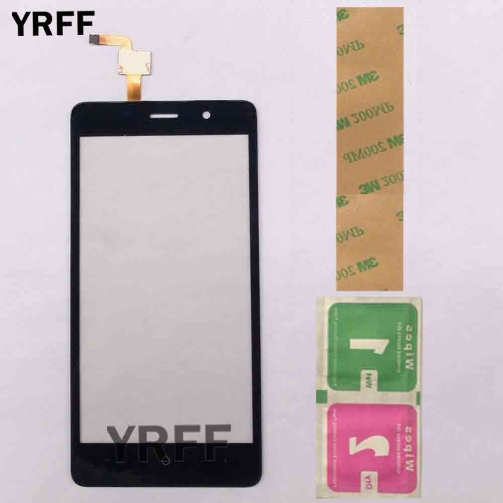 Touch Screen Panel For LEAGOO M5 Sensor Touch Screen For BQ 5022 Touchscreen Digitizer Repair Parts Front Glass Lens 3M Glue