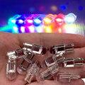Автоматический универсальный T10 светодиодный светильник с 2/10 шт. W5W 194 Стекло Корпус светодиодный лампы автомобиля Белый Цвета фонарь освещ...